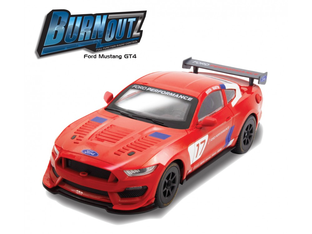 1:14 RC BURNOUTZ FORD MUSTANG GT4