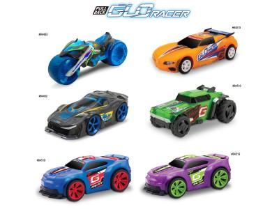 GLO RACER & TRUCK PULL BACK