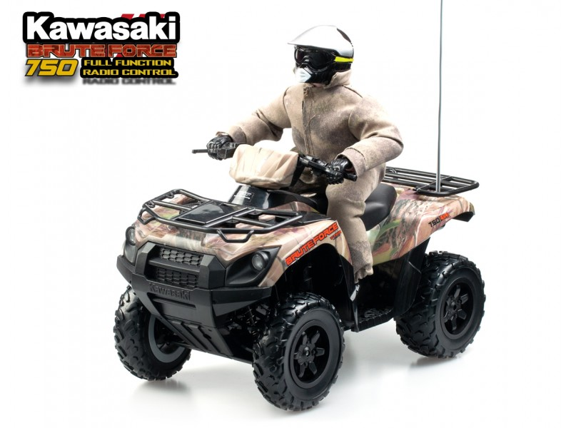 1:6 RC KAWASAKI BRUTE FORCE 750 - Speical Edition Camo